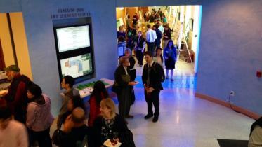 Photo of the poster session at the Wetterhahn Symposium