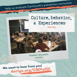 Culture, Behavior, & Experiences (CBE) Survey